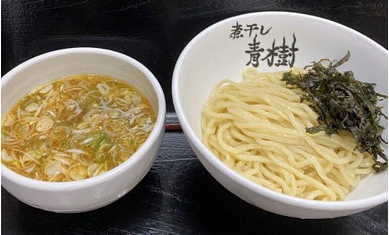 【アッサリ磯塩つけ麺】860円