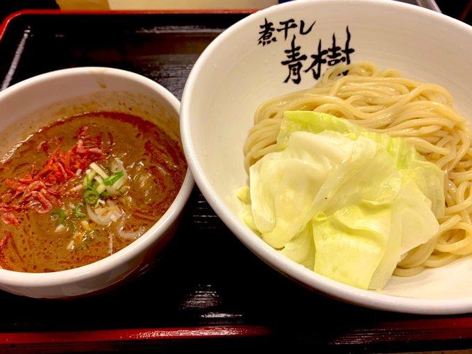 青樹_海老つけ麺